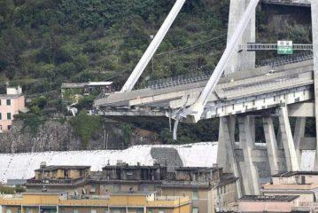 Bandiere a mezz'asta: oggi si ricordano le vittime del Ponte Morandi