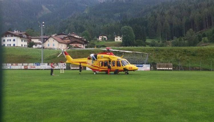 Rinviato a causa del maltempo il volo test dell'elisoccorso a Santa Vittoria d'Alba