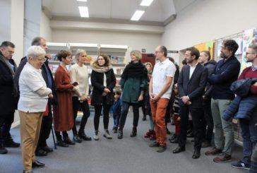 Inaugurata alla biblioteca di Alba la mostra realizzata dei bambini