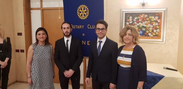 Al Rotary Club di Cuneo, consegnati i riconoscimenti in ricordo dell'ingegnere Fabrizio Corino
