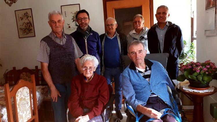 La signora Gemma Bosio compie 100 anni, gli auguri dell'Amministrazione di Ceresole