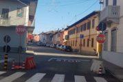 Nuovo segnale di stop migliorerà la viabilità a Sommariva Bosco