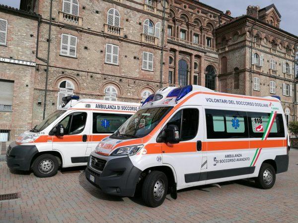 Dogliani inaugura le nuove ambulanze e il semaforo di allerta meteo