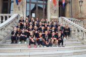 Il NewTwirling Bra testimonial Aido alla Coppa del Mondo a Limonges