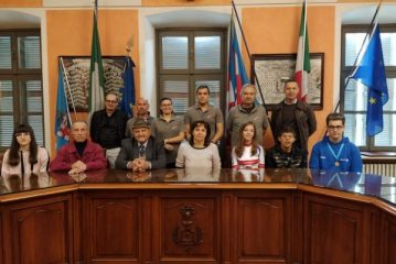 Premio e targa ricordo dal Sindaco Balbo per i benemeriti cornelianesi