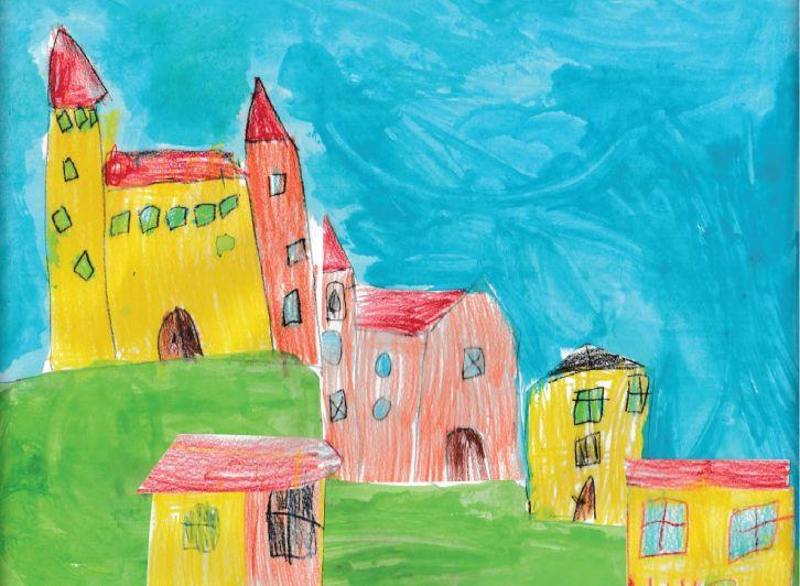 Sommariva del Bosco in miniatura nella mostra dell'asilo