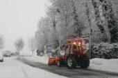 L'ondata di neve è arrivata, situazione sotto controllo sulle strade