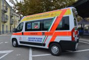 Inaugurata la nuova ambulanza dell'Avav a Santo Stefano Belbo