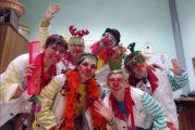 Naso Rosso Musica e Allegria con i Clown alla Residenza L'Annunziata di Sommariva Perno