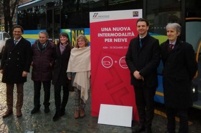 Treno + bus a Neive, un unico biglietto per un trasporto giornaliero rapido, economico e green