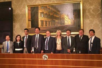 A Perosino onorificenza per aver favorito l'amicizia Italia-Cina