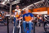 Nicola Dutto motociclista cuneese dalla sedia alla Dakar