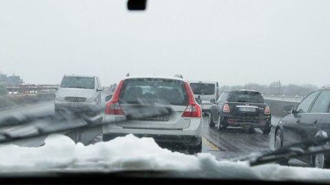 Ancora disagi al traffico per lavori in tangenziale (sempre che non nevichi)