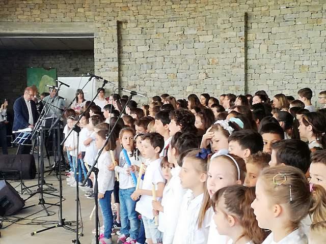 Gli alunni delle scuole primarie della Valle Bormida in concerto