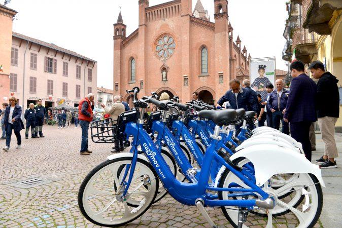 Alba: dal 31 ottobre sospeso il servizio di bike sharing EazyMov
