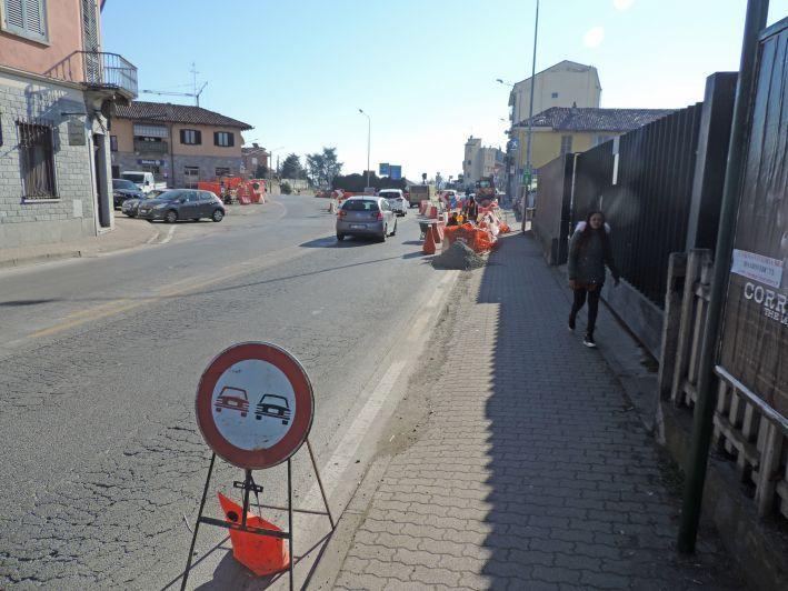 Prende forma risagomata rotatoria lungo via Cuneo