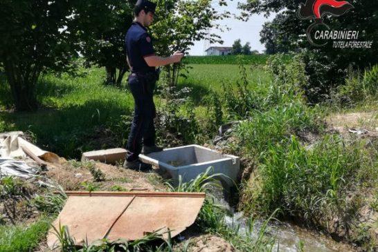 Ambiente: controlli dei carabinieri forestali a Bra, Ceva e Saluzzo