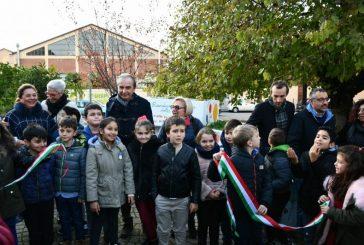 Inaugurata l'aiuola dei giardini Falcone e Borsellino in Bra