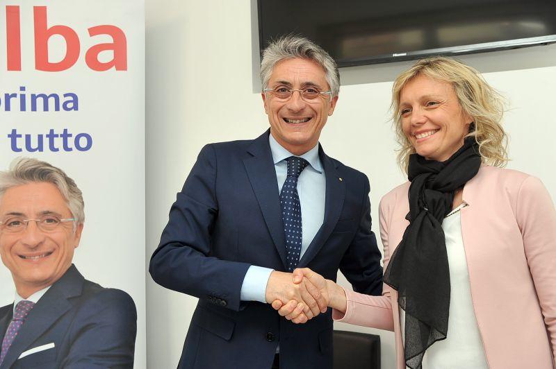 Carlotta Boffa e Carlo Bo vanno uniti alle elezioni del 26 maggio