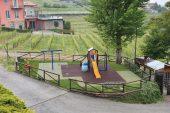 Completati i lavori all'area giochi per bambini