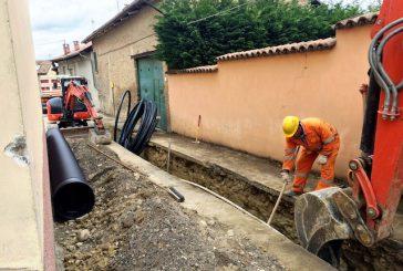 Lavori alla rete dell'acquedotto in frazione San Martino