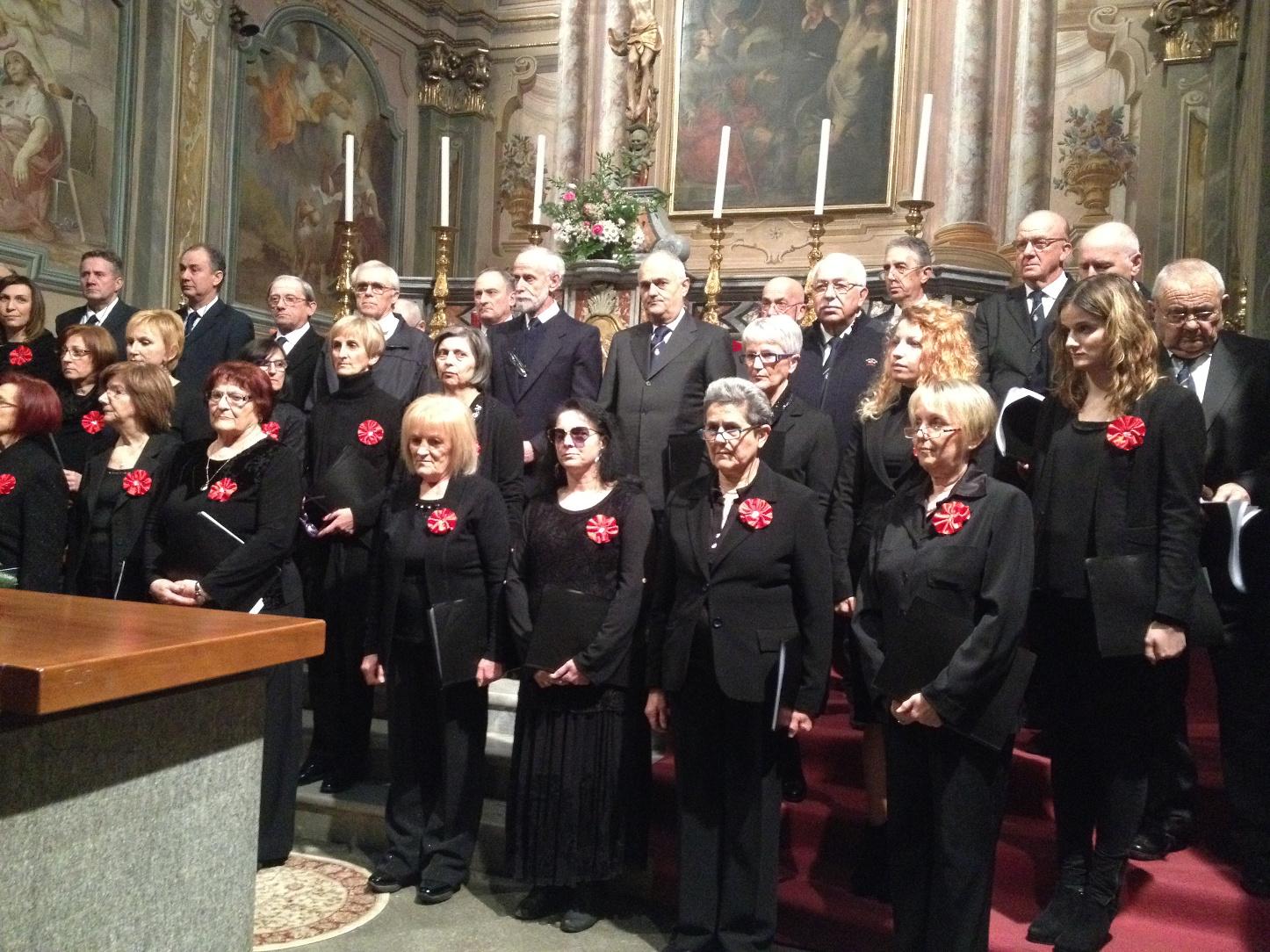 Le Corali per Santa Cecilia al Santuario della Madonna del Popolo