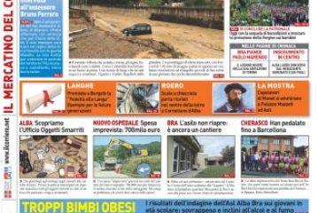Le principali notizie del numero in edicola lunedi 9 settembre