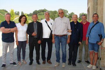 Visita del Vescovo alle Cantine Abbona di Dogliani