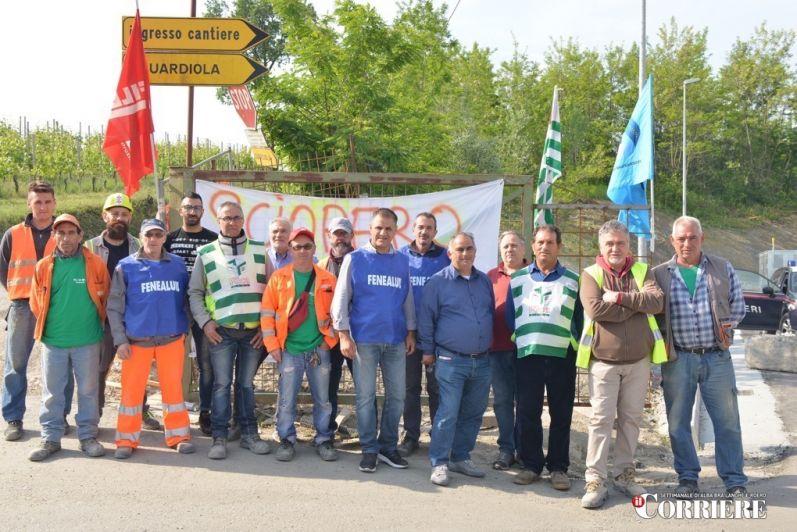 Licenziati 16 operai Sciopero a Verduno