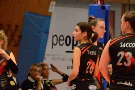 Volley: In serie D le Libellule battute dalla capolista