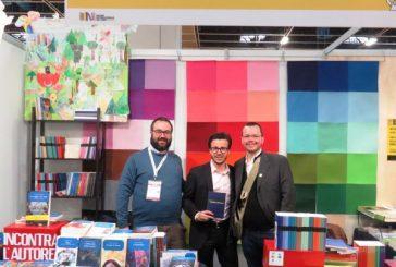 Il braidese Nicola Brizio ha presentato il suo nuovo libro al Salone di Torino