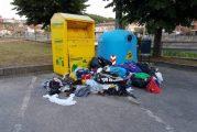 Episodi di abbandono di rifiuti e danneggiamento di cassonetti