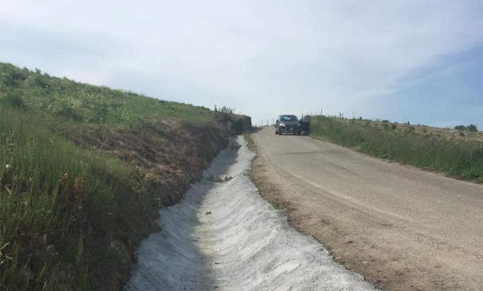 Finiti i lavori di regimazione delle acque in località Barbanorio