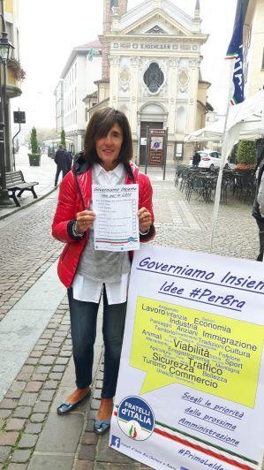 Centrodestra incartato per le elezioni: FdI risponde a Bra Domani