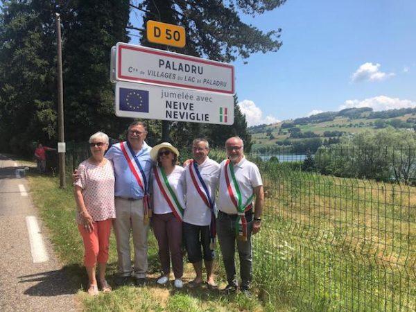Delegazione langarola a Paladru in Francia per il gemellaggio