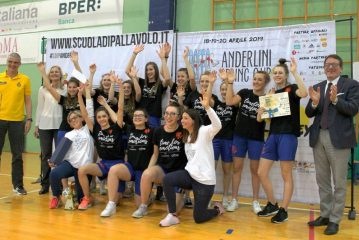 Il Play Gall Under 16 ha vinto il Trofeo Paolo Bussinello di volley