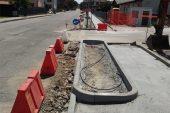 Partiti i lavori per i marciapiedi in frazione Gallo