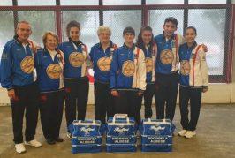 Bocce - Buon primo punto per il nuovo team femminile albese