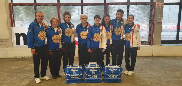 Bocce – Buon primo punto per il nuovo team femminile albese