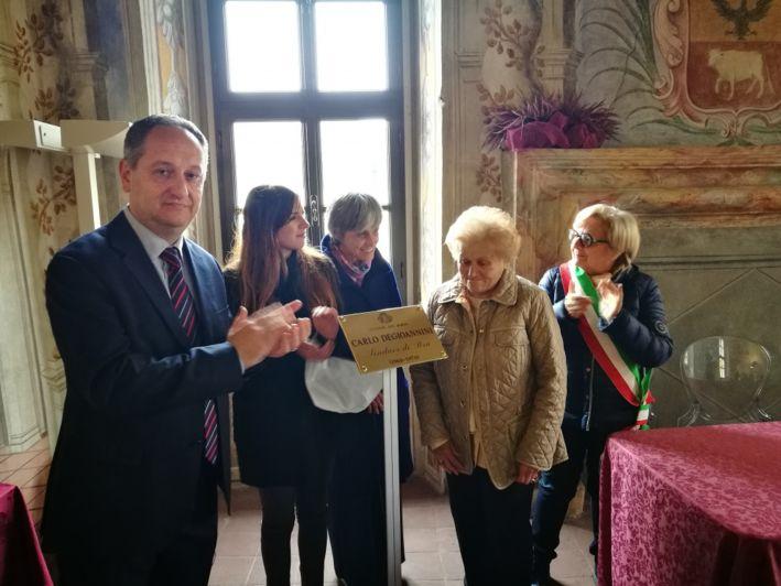 Palazzo Mathis che lui «restituì» a Bra, ora ricorda l'ex sindaco Degioannini
