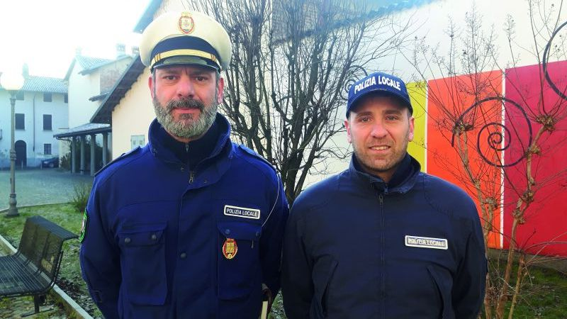 Offese agente cheraschese: risarcisce con 500 euro