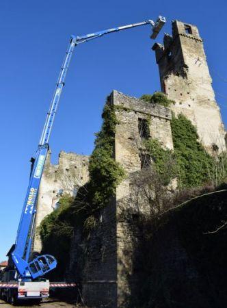 Iniziati i lavori di restauro del Castello di Gorzegno