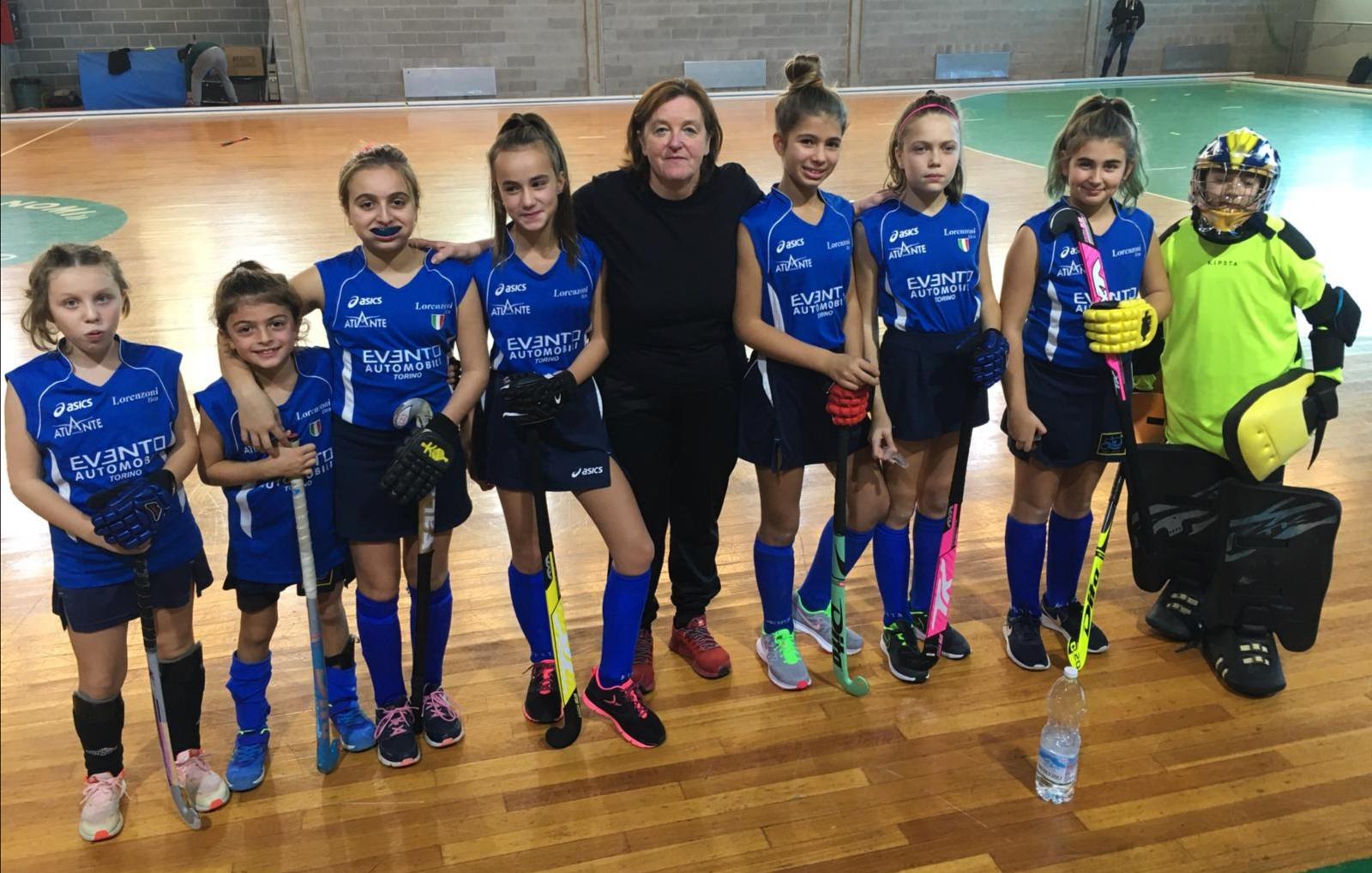 I gruppi giovanili della Lorenzoni aprono la stagione Indoor dell'Hockey