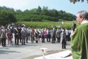 Commemorazione per i Martiri del Falchetto, i partigiani uccisi dai nazifascisti