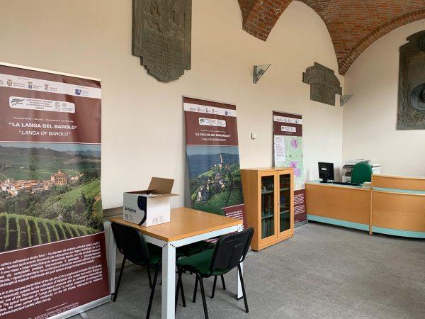 Neive: apre il nuovo ufficio turistico e attorno si rinnova la viabilità