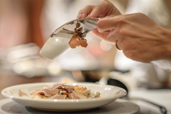 Gli Chef Maurilio Garola e Davide Palluda ospiti all'Ultimate Truffle Dinner