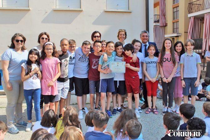 Premiati gli studenti che ogni mattina vanno a scuola in Piedibus