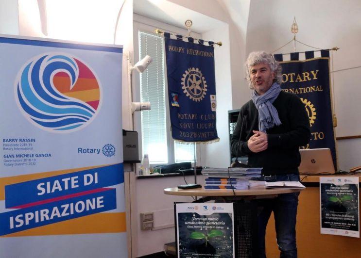 Etica, tecnica e ambiente in uno degli appuntamenti del Rotary Club. Tra i relatori l'albese Roberto Cavallo