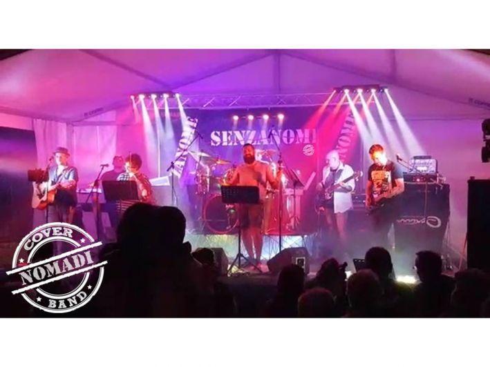 Un concerto benefico di cover dei Nomadi