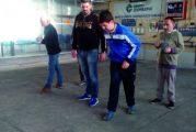 Ragazzi autistici si allenano a bocce per le Special Olimpics